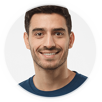 Closeup of a Man Smiling